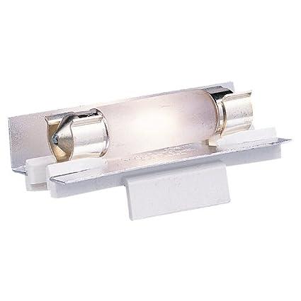 Seagull 9830 15 White LX Linear Lamp Holder