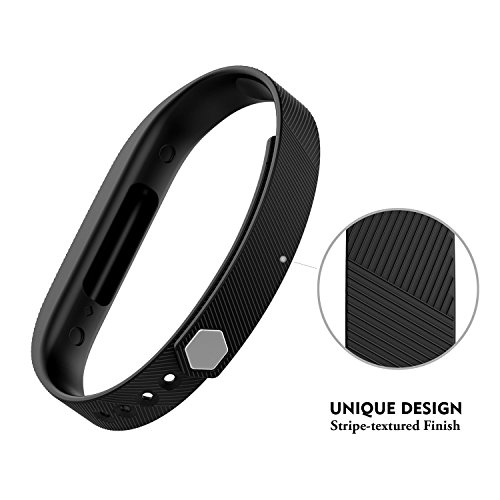 GreenInsync Fitbit Flex 2 Bands, Flex 2 Sport Accessories Bracelet Band Strap Soft Silicone W/Fastener Clasp for Fitbit Flex 2 Fitness Smart Watch, Adjustable Repalcement Wrist Band for Small Large