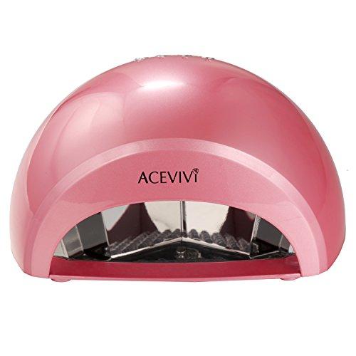 ACEVIVI Portable Handy 12w Uv Lamp Light Manicure Nail Dryer Only $14.99