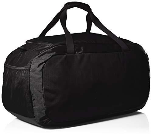 Under Armour Undeniable Duffel 4.0 LG, geräumige Sporttasche, wasserabweisende Umhängetasche Unisex, Schwarz (Black/Black/Silver (001)), Einheitsgröße 3