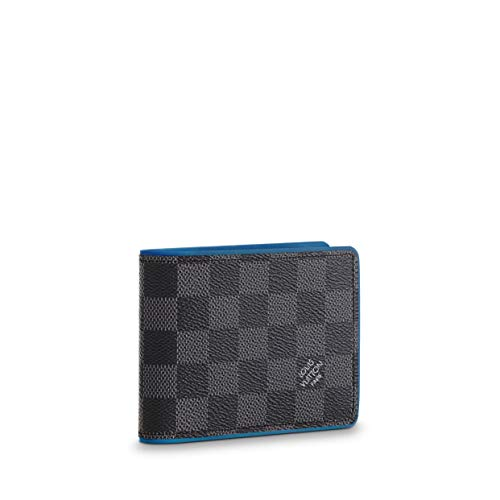 Louis Vuitton Damier Graphite Canvas Neon Multiple Wallet N64434 (Louis Vuitton Damier Graphite)