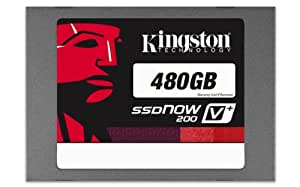Kingston SSDNow V+200 480GB SATA 3 2.5-Inch Solid State Drive with Adapter KR-S3080-3H