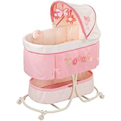 Summer Infant Soothe & Sleep Bassinet with Motion, Lila