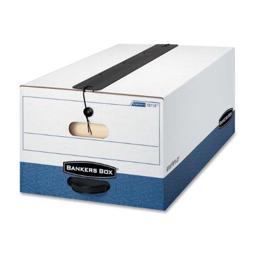 Bankers Box Liberty Plus Heavy-Duty Storage Boxes, Legal, 12 Pack (12112) (Storage Box Liberty Plus)