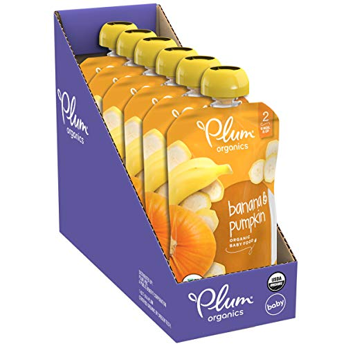 411dz7jF5KL - Plum Organics Stage 2, Organic Baby Food, Fruit And Veggie Variety Pack, 4 Ounce Pouches (Pack Of 18)