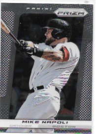 Mike Napoli 2013 Panini Prizm Boston Red Sox Card  158