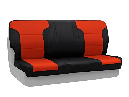 CoverKing Custom Fit Front Solid Bench Seat Cover for Sel...