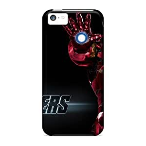 Hard Plastic Iphone 5c Case Back Cover,hot Iron Man In The Avengers Case At Perfect Diy