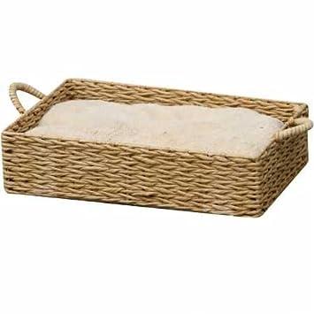 Amazon.com: Caja Papel cama cuerda w/Almohada – Caja cuerda ...