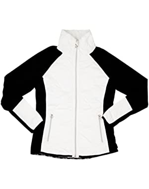 Calvin Klein Womens Packable Quilted Run Jacket