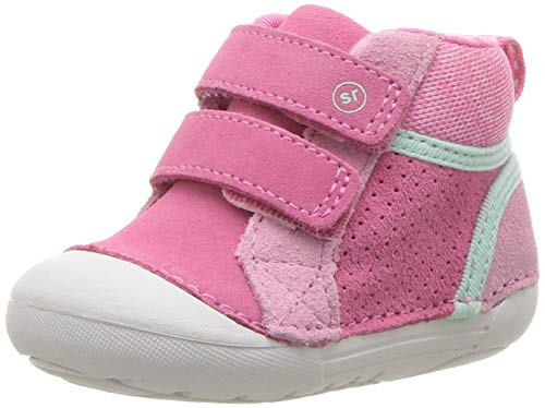 aaafc50444df9 Stride Rite Girls' SM Milo Sneaker, Pink, 4.5 M US Toddler
