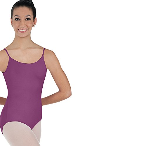 Body Wrappers BW Prowear Camisole Ballet Cut Leotard (BWP224) -Mulberry -XS