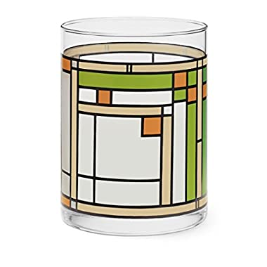 MoMA Frank Lloyd Oak Park Tumbler Glass In Green