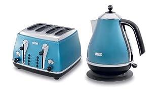 Delonghi Icona Azure Blue Kettle Kbo0331 B Amp Icona Azure