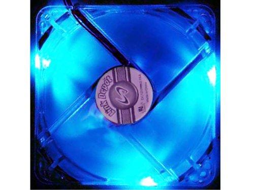 Link Depot Computer Case Power Fan FAN-4LED-120BU, White/Blue by Link Depot (Image #1)