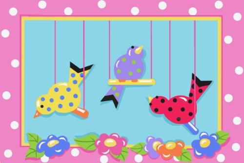 (Fun Rug JR-TSC-201 3958 Jade Reynolds Swingin' Chicks)