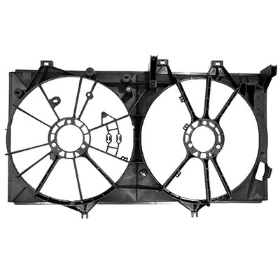 MAPM Premium Quality RADIATOR FAN SHROUD FOR MODELS WITH 3.5L V6 by Make Auto Parts Manufacturing