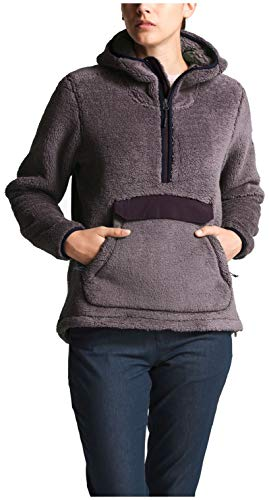The North Face Campshire Pullover Hoodie - Women's Rabbit Grey Large ()