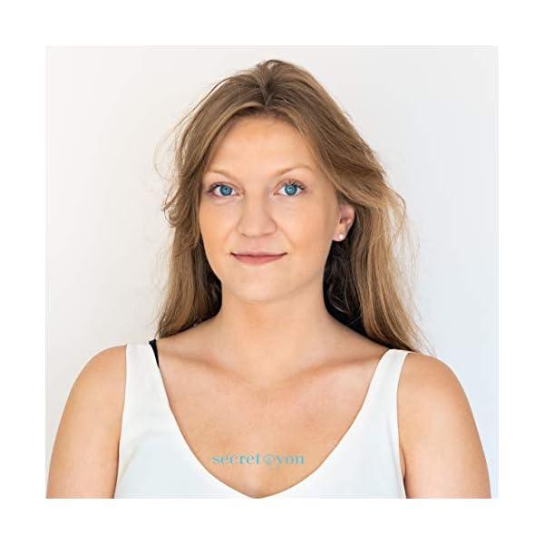 Orecchini da Donna con Perle Rotonde Coltivate D'Acqua Dolce Secret & You - Oro 18 carati 750 Legge o Argento rodiato… 3