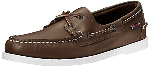 - Sebago Men's Docksides Boat Shoe,Brown Elk,9.5 W US
