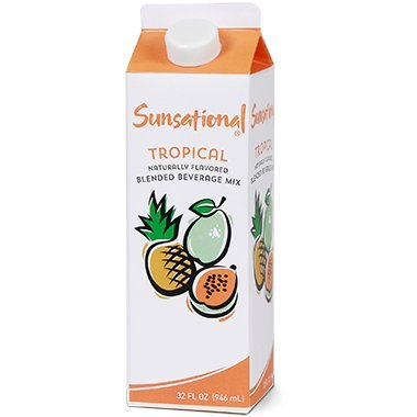 Sunsational Frozen Tropical Concentrate 32 oz, Pack of 12 by Sunsational