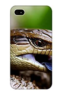 KOKOJIA IdFmeS-2796-sYvvk Case Cover Skin For Iphone 4/4s (Animal Blue Tongued Skink)/ Nice Case With Appearance
