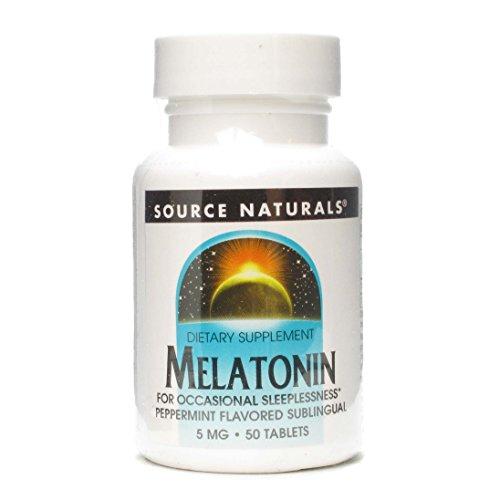 Sublingual Peppermint 50 Tablets (Melatonin 5mg 50 Tablets)