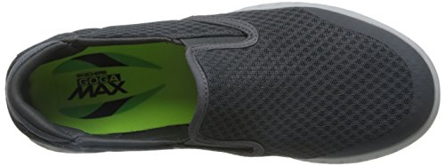 Go Skechers The On Glide Charcoal Slip Response on Mens Cttqxwrv