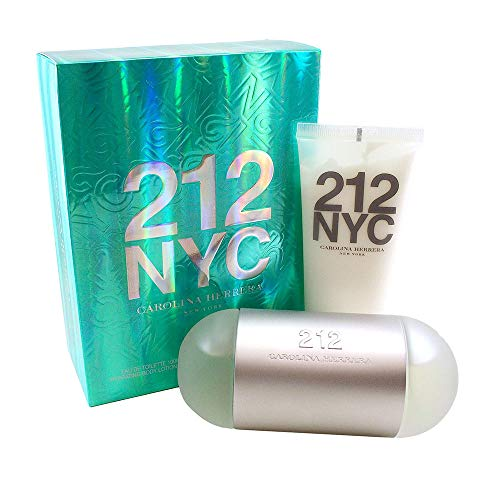 - Carolina Herrera 212 Nyc 2 Piece Gift Set for Women, 3.4 Ounce