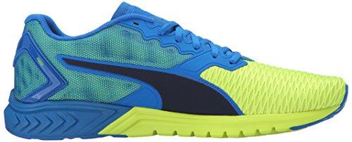 PUMA Herren Ignite Dual Laufschuh Elektrische blaue Limonade / Sicherheitsgelb