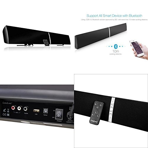 GOOD MEDIA Tv Sound Bar 3D Surround Wireless Speaker For Home Theater 39'' 40 Watts Tax Free ✅ by GOOD MEDIA