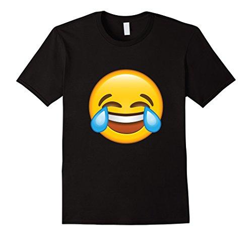 Funny Laughing Crying/Tears of joy Emoji tshirt ()