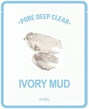 Mascarilla Purificante Apieu Pore Deep Clear Ivory Mud Mask (Pack de 2): Amazon.es: Belleza