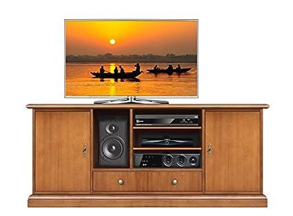 Mobile porta tv Home Cinema, credenza per tv e impianto Home Cinema ...