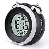 Loud Alarm Clock for Heavy Sleepers Dual Alarm with Optional Weekday - Simple