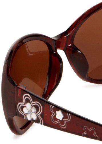 Brown Eyelevel de Femme Marron Soleil Lunettes vRXRq6xP