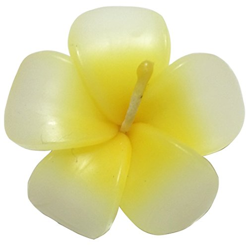 - Rose-shaped Wedding spa Scented Floating Yellow Colourful Candles In Flower Aromatherapy Relax Gift Set, Pack of 12