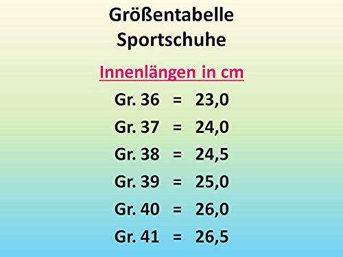 Schwarz Neonorange Neonorange Damen Schwarz Sneakers gibra Sneakers Damen gibra 0OOnwqCf