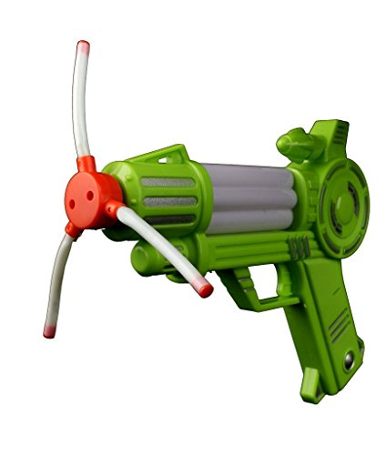 Fun Central AI623 8 Inch x 7 Inch LED Windmill Blaster Gun Toy, LED Blaster Gun, LED Light Up Windmill Blaster Gun, Kids Windmill Blaster Gun for Party Favors, Rewards, Gifts