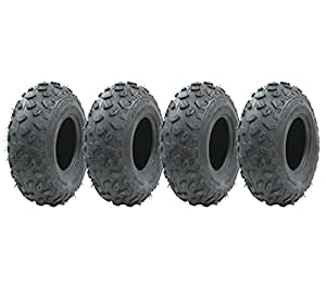 Cuatro - 19x7.00-8 neumático Quad, ATV E Marcado Carretera Legal neumático Paseo de neumático en Lawnmower