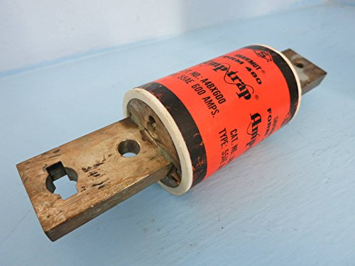 NEW -Box Shawmut Amp-trap A4BX600 Form 480 Type 55AE 600A Current Limiting Fuse