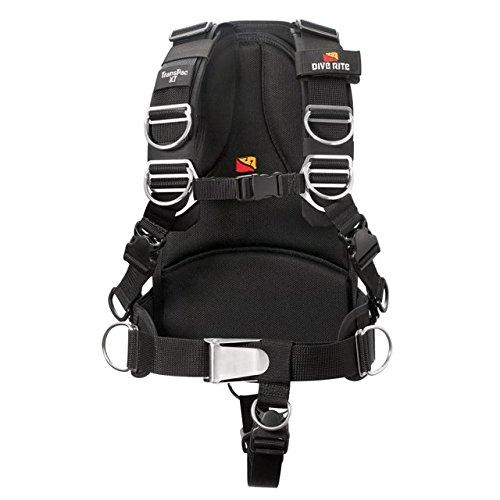 (Dive Rite Transpac XT Harness XS Black)