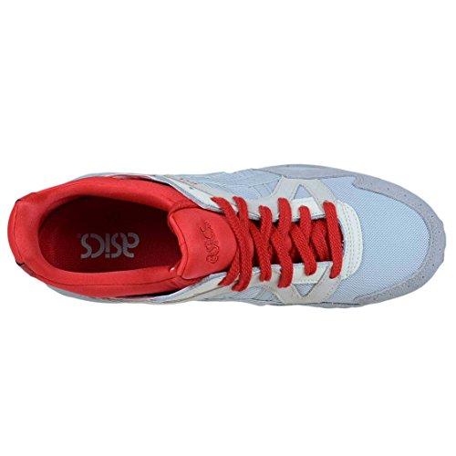 Asics Gel Lyte V Mid Grijs Suède Rode Splatter Heren Running Fashion H7q3n 9696 Mid Grey / Mid Grey