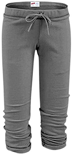 (Soffe Womens The Training Capris Charcoal S)