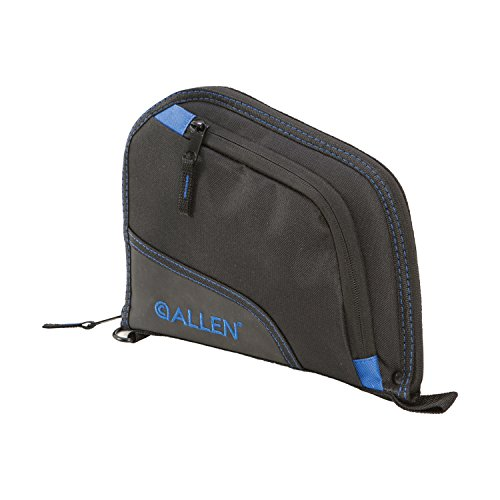 Allen Auto-Fit Handgun Case 9 Black/Blue Blue, 9