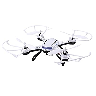 JJRC RC Quadcopter HD Camera Headless Mode Auto Return Drone Kit with USB Chargers Batteries Spare Propellers 6 Axis Gyro 2.4GHz Remote Control Drone