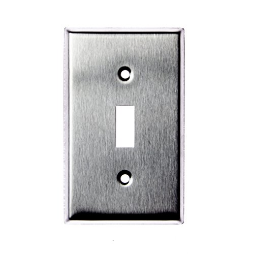 TOPELE WPS100 Stainless Wallplate Switch