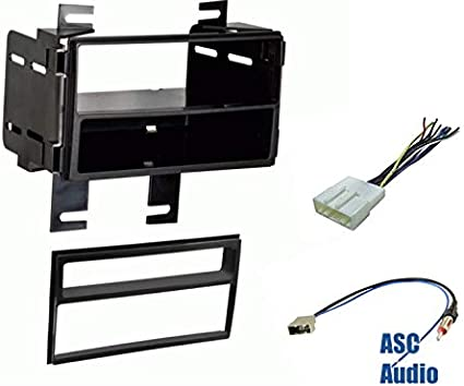Premium ASC Car Stereo Dash Install Kit Wire Harness and Antenna Adapter to Install Aftermarket Radio for select Nissan Vehicles Compatible Vehicles Listed Below Other