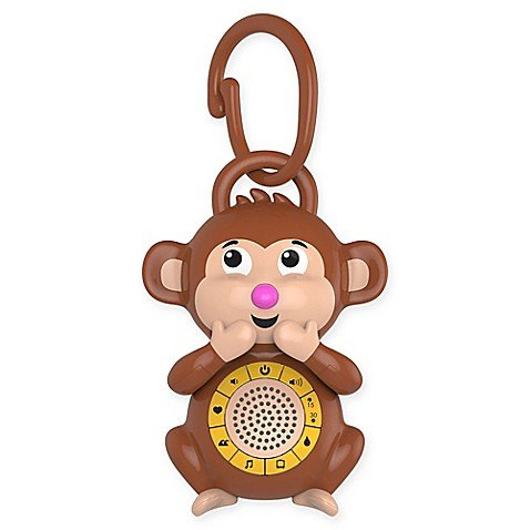 Big Red Rooster Fun Monkey Shape Portable Baby Sound Machine