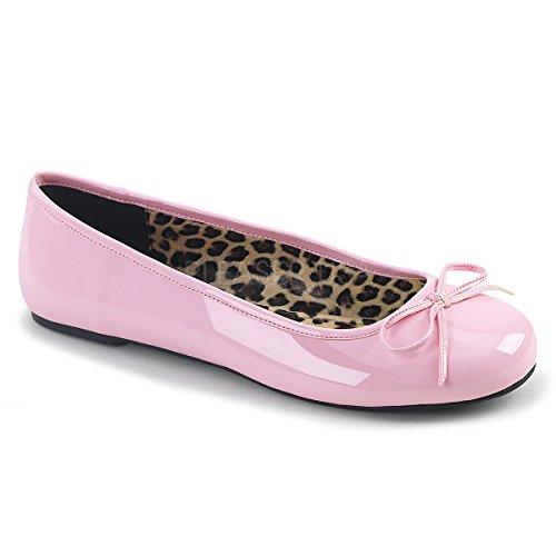 Anna Mujer Cerrada Para Pleaser Pink Punta Con Bailarinas 01 Pat B pqwxf6